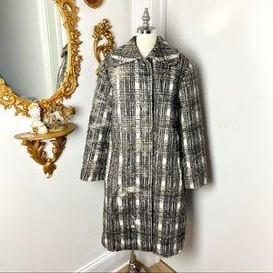 Jil Sander 2012 Tartan Coat